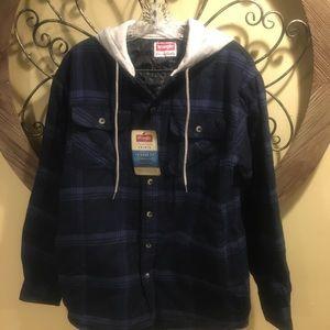 Wrangler shirt / Light Jacket